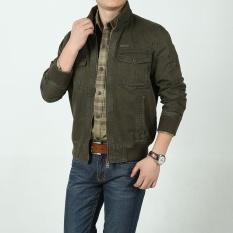 Ukuran besar Pria jaket pria Musim Semi dan musim gugur casual bisnis anak muda jaket pria