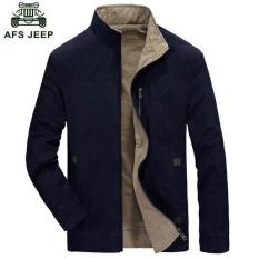 AFS JEEP Men s Fashion Casual Double-sided (Biru)-Intl ed8c8dbb4b