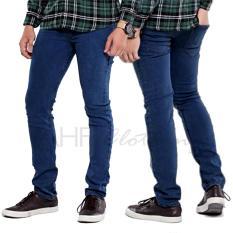 Spesifikasi Ahf Celana Jeans Pencil Slimfit Biowash Yang Bagus