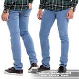 Spesifikasi Ahf Celana Jeans Pencil Slimfit Biru Muda Bioblitz Terbaik