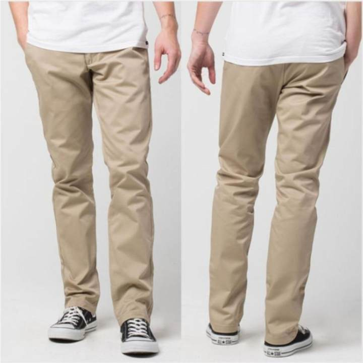 AHF Celana Panjang Chinos - Cream | Lazada Indonesia