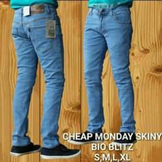 Review Ahf Celana Panjang Jeans Skinny Pensil Cheap Monday Bioblitz Terbaru