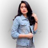 Spek Ahf Jaket Jeans Denim Wanita Bioblitz Jawa Barat