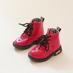 Jual Beli Ai Rumah Bayi Martin Boots Lace Up Boots Kids Anak Kasual Olahraga Sepatu Rose Intl Di Tiongkok