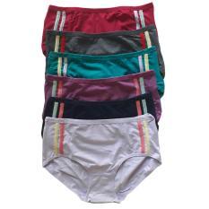 Beli Aily 1218 Celana Dalam Wanita Set 6Pcs Multicolor Pake Kartu Kredit