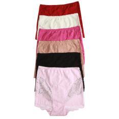 Harga Aily Celana Dalam Lace Set 6Pcs 8119 Multicolor Original