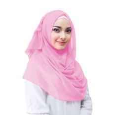 Hijab Instan Aime Hijab Jilbab Instan Instant - [Warna merah muda]