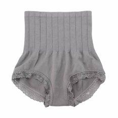 Aimons Munafie Slim Pant Korset Celana - Abu-abu