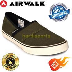 Sepatu Wanita Sneaker Casual Airwalk Barbara AIWX611F05AY - Army