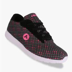 Airwalk Jellen Jr Sepatu Sneakers Anak Perempuan - Abu-Abu