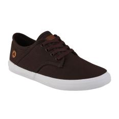 Obral Airwalk Jisaac Sepatu Sneakers Pria Dark Brown Murah