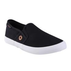 Jual Airwalk Juan Sepatu Sneakers Pria Black Branded Murah