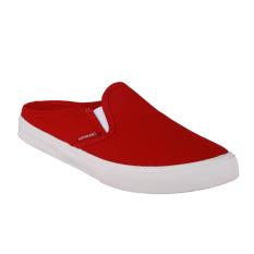 Diskon Airwalk Jw Mules Sneakers Wanita Red Branded