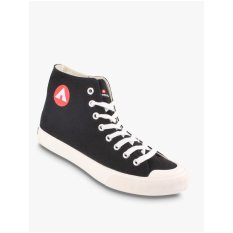 Airwalk New Basic Canvas Men S Sneakers Shoes Hitam Diskon Indonesia