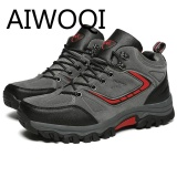 Beli Aiwoqi 2017 Men Women Low Waterproof Non Slip Hiking Shoe Outdoor Climbing Hiking Shoes For Men Women Intl Murah Di Tiongkok