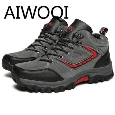 Harga Aiwoqi 2017 Men Women Low Waterproof Non Slip Hiking Shoe Outdoor Climbing Hiking Shoes For Men Women Intl Yang Bagus
