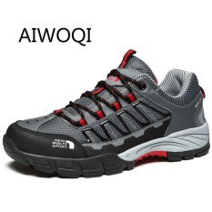 Harga Aiwoqi Men Women S Low Waterproof Non Slip Hiking Shoe Outdoor Climbing Hiking Shoes Intl Aiwoqi Ori