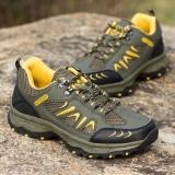 Harga Aiwoqi Pria Rendah Tahan Air Non Slip Sepatu Hiking Outdoor Climbing Shoes Intl Lengkap