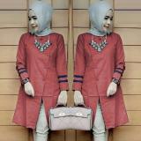 Beli Ak 112 Bolly Top Maroon Katun Akiko Fashion