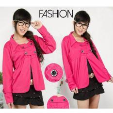 AK- Blazer Vania - Pink Wedges Import Akiko Fashion