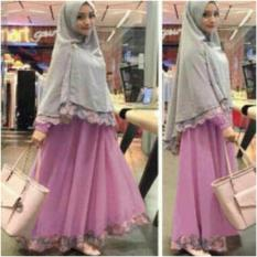 AK - Maxy Safira -Dusty + Bergo Spandek Akiko Fashion