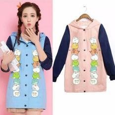 AK - Sweater Belina Babyterry - Blue Akiko Fashion