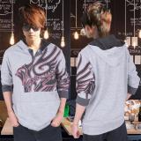 Miliki Segera Ak Sweater Hugos Tattoo Grey Akiko Fashion