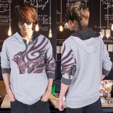 Diskon Ak Sweater Hugos Tattoo Grey Akiko Fashion Branded