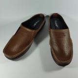 Harga Akas Sepatu Selop Pria Murah Warna Cokelat Termurah