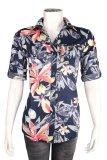 Jual Ako Jeans Short Sleeve Shirt Caca Flower 14 4240 Ako Jeans Ori