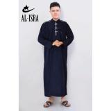Toko Al Isra Jubah Africani Pakaian Muslim Pria Navy Terlengkap