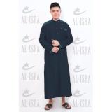 Harga Al Isra Jubah Cordova Pakaian Gamis Pria Muslim Navy Origin