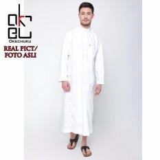 Harga Al Isra Jubah Salman Pakaian Gamis Muslim Pria Putih Dki Jakarta