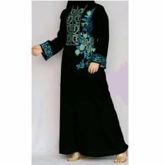 Al Khatib Abaya Nadifa Jetblack Saudi Black