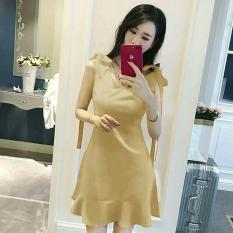 Alasxyashop Dress Wanita Polos Lily / Dress Renda / Dress Muslim / Dress Brukat / Dress Wanita / Dress Maxi / Dress Pesta / Dress Polos / Dress Salur / Lace Dress / Dress Korea / Gaun Wanita / Midi Dress