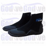 Alat Snorkeling Godive Snorkeling Diving 5Mm Neoprene Booties Bl01 Black Original