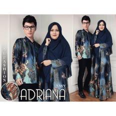 ALB Couple Syari Adriana - Navy- Couple Suami Istri