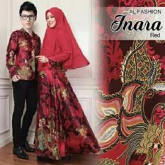 ALB Couple Syari Inara  - Red - Couple Suami Istri