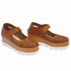 Jual Aldhino Sepatu Flat Wanita Gd 12 Tan