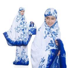 Aldini Mukena Bali Dewasa Biru Nc001 Original