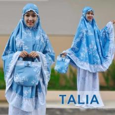 Aldini Mukena Katun Talia Cherry Blassom CB001