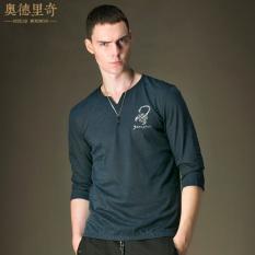 AODELIQI Baju Dalaman Kain Linen Semi dan Kaus Warna Polos XL