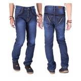Diskon Produk Aleganza New Arrival Celana Panjang Jeans Distro Pria Dknz 658 Biru