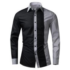 Review Toko Algren Style Kemeja Pria Cranel Abu Online
