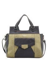 Spesifikasi Alibi Paris Amora Shoulder Bag Hitam Olive Beserta Harganya