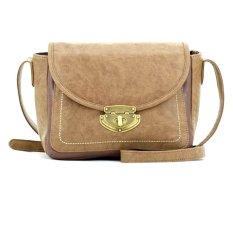 Spesifikasi Alibi Paris Boite Crossbody Bag Cokelat Terbaik