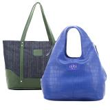 Beli Alibi Paris Savir Bag Greenois Bag Blue Denim Alibi Paris Asli