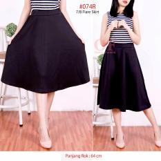 Spesifikasi Alicia Rok A 7 8 A Line Skirt 7 8 Black Online