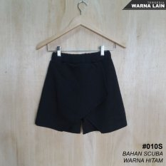 Jual Alicia Rok Celana Flip Model Korea Korean Skort Black Alicia Branded