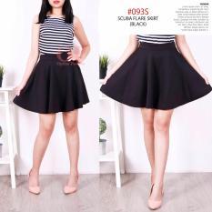 Jual Alicia Rok Lebar Pendek Short Skirt Antik